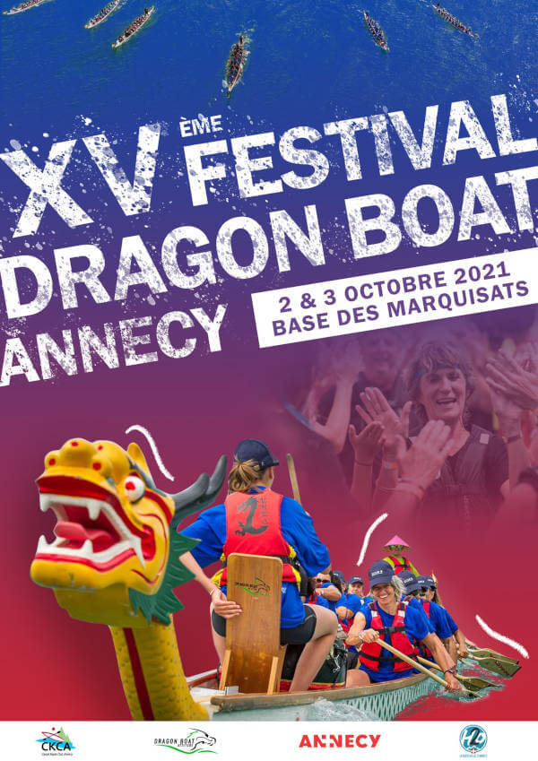 Annecy, dragon boat